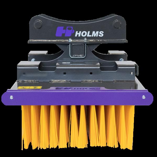 Holms børsten til gravemaskiner og gaffeltrucks